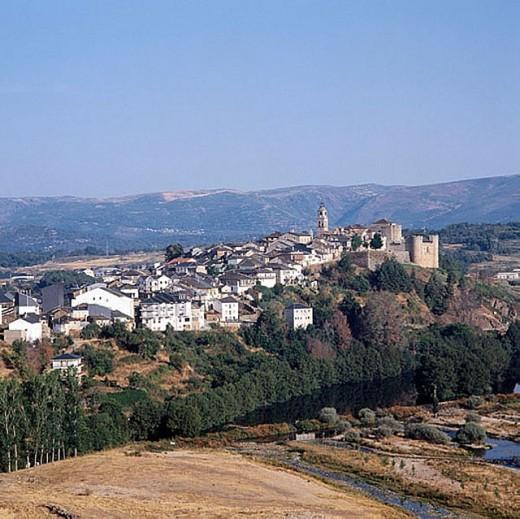 Puebla de Sanabria. Zamora province, Castilla-Léon, Spain : Stock Photo
