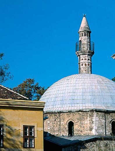 Stock Photo: 1566-277809 Pasha Hassan Jakovali Mosque. Pécs. Hungary.