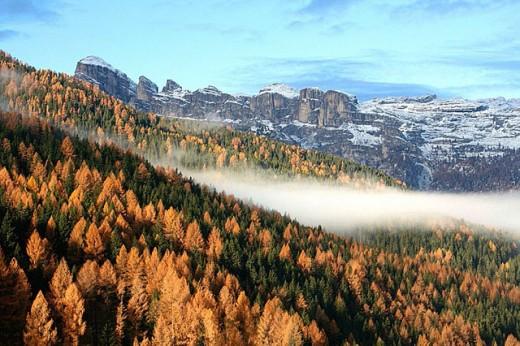 Val Badia. Trentino-Alto Adige, Italy : Stock Photo