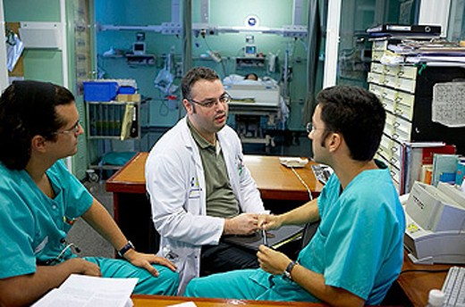 Anesthesiology and resuscitation unit, department of surgery. Hospital Universitario Gran Canaria Doctor Negrin, Las Palmas de Gran Canaria. Canary Islands, Spain : Stock Photo