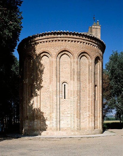 Stock Photo: 1566-279119 Mudéjar church of Cristo de las Batallas (aka Virgen de la Vega), Toro. Zamora province, Castilla-León, Spain