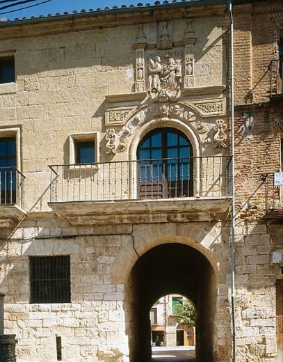 Arco del Postigo, Toro. Zamora province, Castilla-León, Spain : Stock Photo