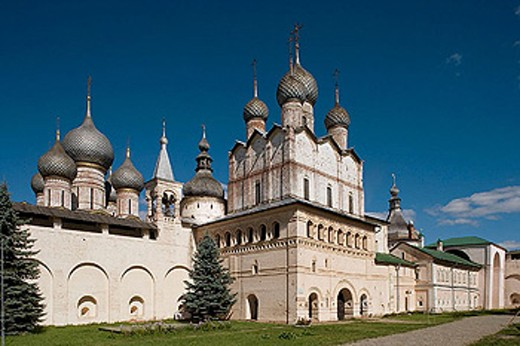 Stock Photo: 1566-280504 The Kremlin, Rostov the Great. Golden Ring, Russia