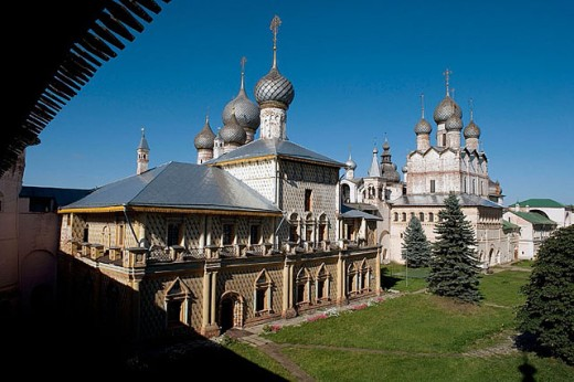 Stock Photo: 1566-280514 The Kremlin, Rostov the Great. Golden Ring, Russia