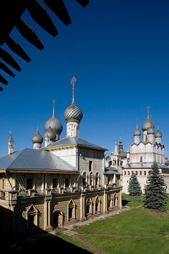 Stock Photo: 1566-280515 The Kremlin, Rostov the Great. Golden Ring, Russia