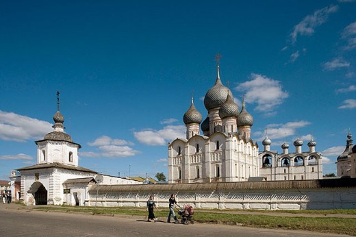 Stock Photo: 1566-280523 The Kremlin, Rostov the Great. Golden Ring, Russia