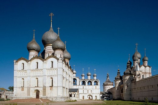 Stock Photo: 1566-280526 The Kremlin, Rostov the Great. Golden Ring, Russia