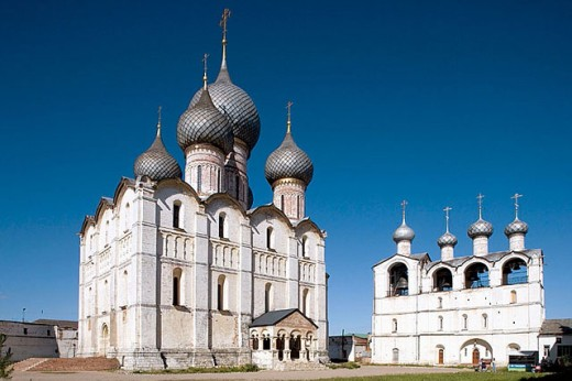 The Kremlin, Rostov the Great. Golden Ring, Russia : Stock Photo