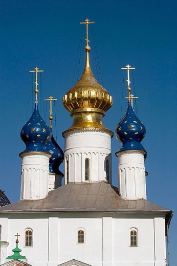 Monastery of Our Saviour founded in the late 14th century, Rostov the Great. Golden Ring, Russia : Stock Photo