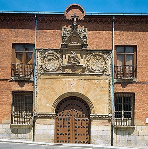 Stock Photo: 1566-281245 Hospital de la Piedad, Benavente, Zamora province, Castile-Leon, Spain
