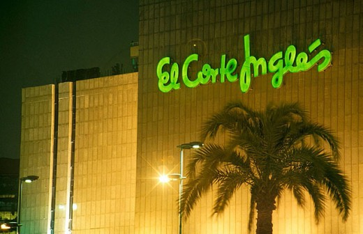 El Corte Inglés department store. Barcelona, Catalonia, Spain : Stock Photo