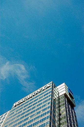 Stock Photo: 1566-282128 Wachovia Bank in midtown Atlanta Georgia. USA.