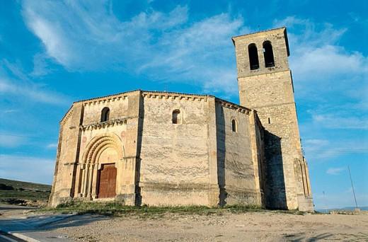 Iglesia de la Vera Cruz, Segovia, Castile-Leon, Spain : Stock Photo