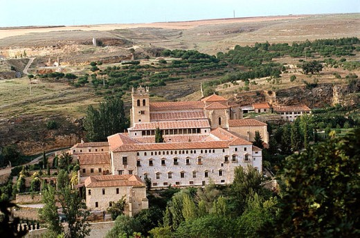 Monastery of Santa María del Parral, founded by Enrique IV in 1445. Segovia, Castile-Leon, Spain : Stock Photo