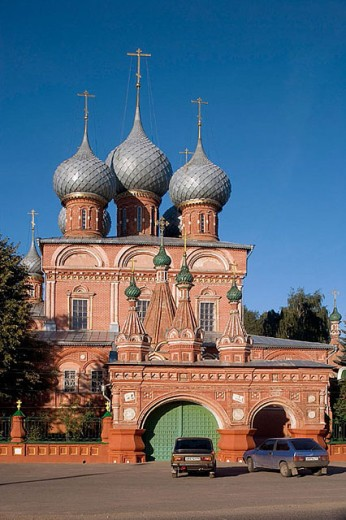 Church of the Ressurection (1651), Kostroma. Golden Ring, Russia : Stock Photo