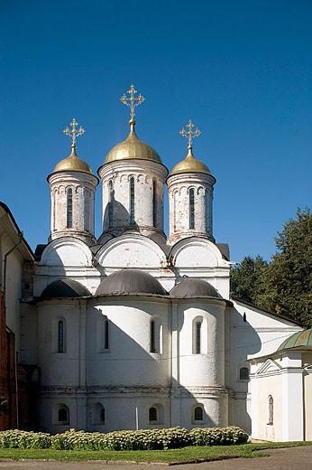 Stock Photo: 1566-283207 Spaso-Preobrazhensky (Transfiguration of the Saviour) Monastery, Yaroslavl. Golden Ring, Russia
