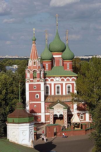 Stock Photo: 1566-283232 Church of the Archangel Michael (1657-1680), Yaroslavl. Golden Ring, Russia