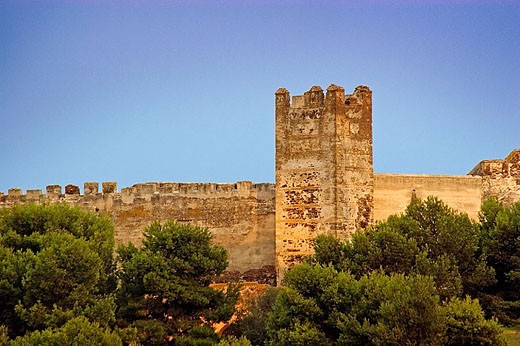 Castillo de Sohail. Fuengirola. Málaga province, Costa del Sol. Andalusia, Spain : Stock Photo