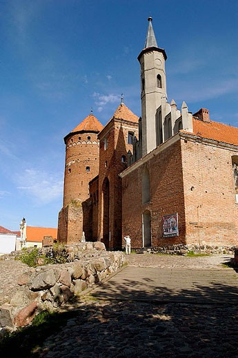 Stock Photo: 1566-284129 Reszel castle. Masuria. Poland.