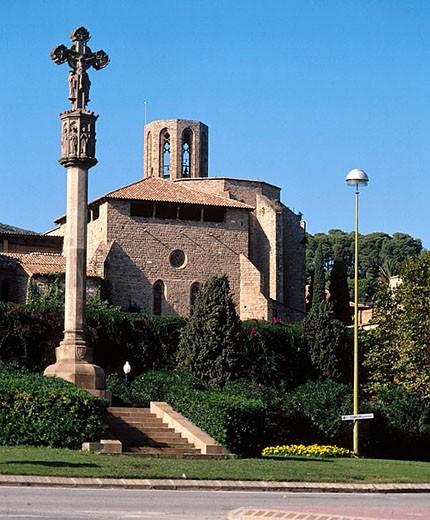 Stock Photo: 1566-284429 Monestir de Pedralbes, Barcelona, Spain