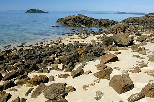 Stock Photo: 1566-284689 Tropical island. Australia
