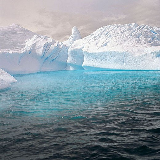 Antarctica. South Pole. : Stock Photo