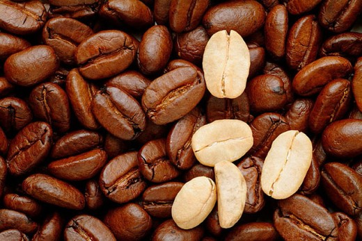 Coffee beans. : Stock Photo