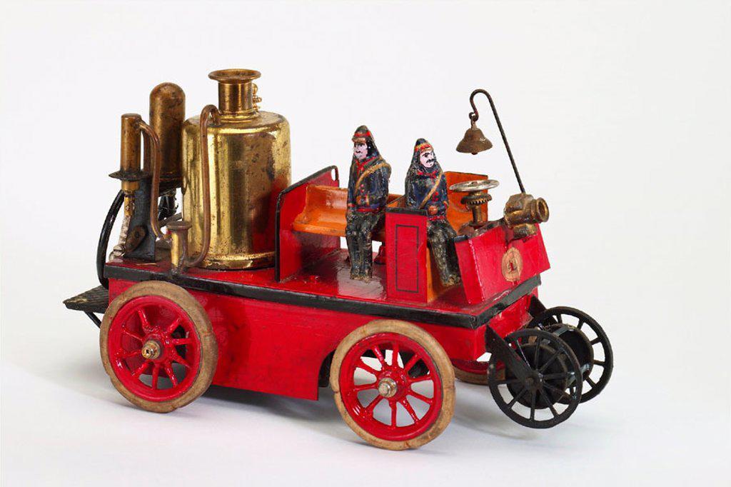 Stock Photo: 1566-290386 Old tin toy