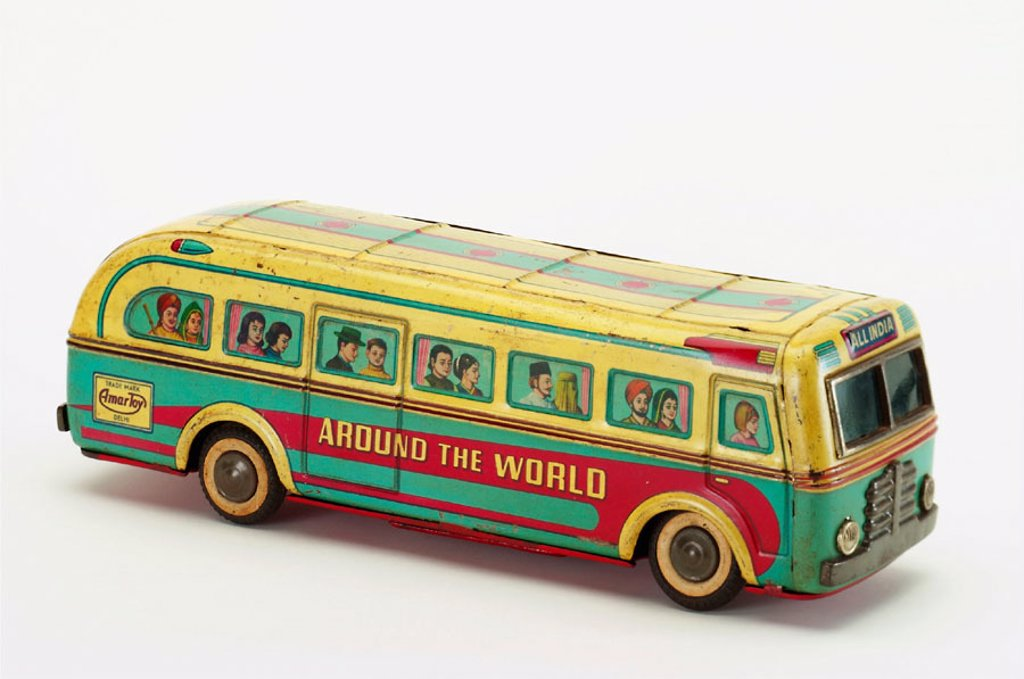 Stock Photo: 1566-290391 Old tin toy
