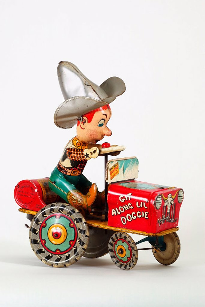 Stock Photo: 1566-290392 Old tin toy