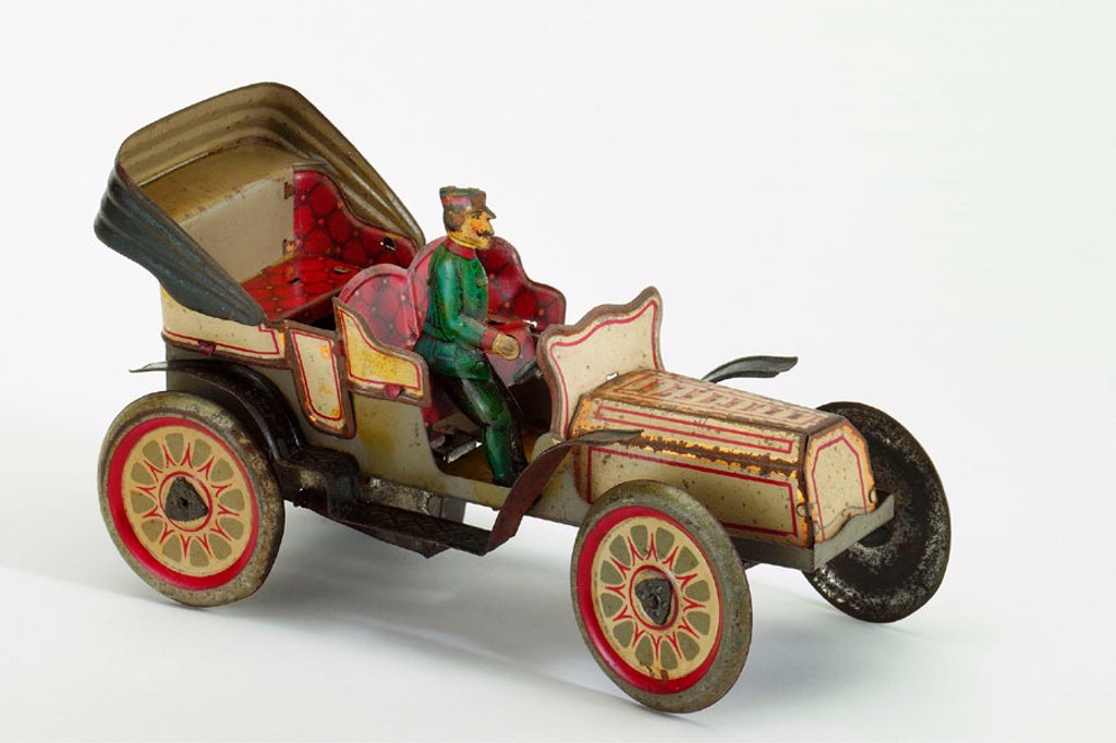 Stock Photo: 1566-290393 Old tin toy