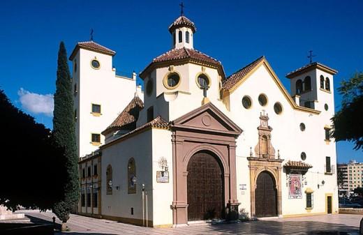 San Pedro parish church. Malaga. Spain. : Stock Photo
