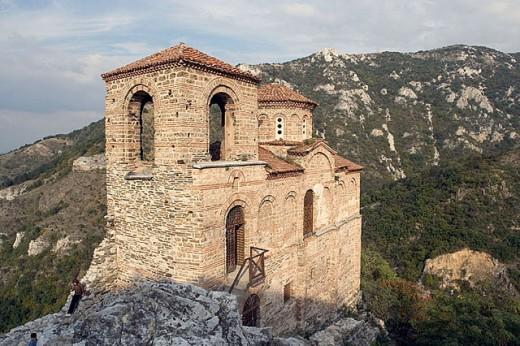 Tsar Ivan Asen's Fortress (12th-13th century). Bulgaria : Stock Photo