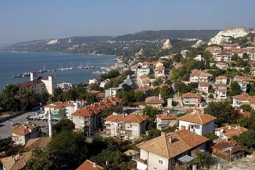 Balchik, Black Sea coast. Bulgaria : Stock Photo