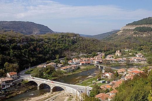 Stock Photo: 1566-291684 Asenova Mahala (Asen´s Quarter), old town Veliko Tarnovo. Bulgaria