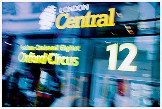 London Transport. England, UK : Stock Photo