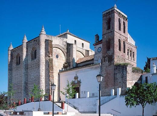 Stock Photo: 1566-293383 Church of the Nuestra Señora de la Consolación, Cazalla de la Sierra. Sevilla province, Andalusia, Spain