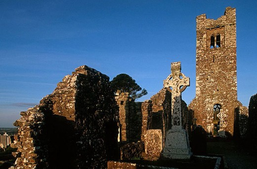 The Hill of Slane. Slane. The Boyne Valley. Co. Meath. Ireland. : Stock Photo