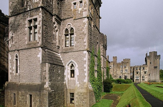 Ashford Castle. Co. Galway. Ireland. : Stock Photo