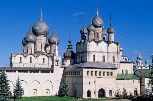 Church of the Resurrection of Christ (1670), The Kremlin, Rostov the Great. Golden Ring, Russia : Stock Photo