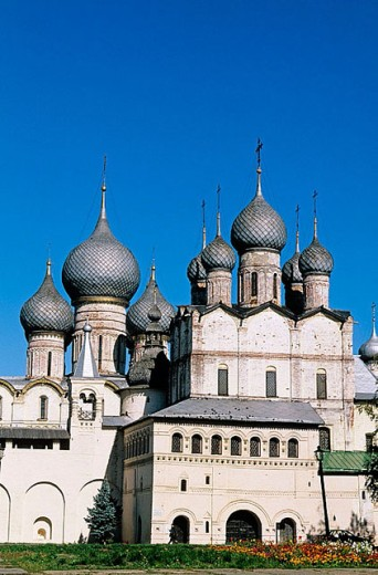 Stock Photo: 1566-295589 Church of the Resurrection of Christ (1670), The Kremlin, Rostov the Great. Golden Ring, Russia