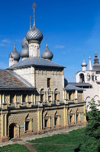 Church of the Virgin Hodegitria (1692-93), The Kremlin, Rostov the Great. Golden Ring, Russia : Stock Photo