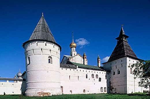 Stock Photo: 1566-295601 The Kremlin, Rostov the Great. Golden Ring, Russia