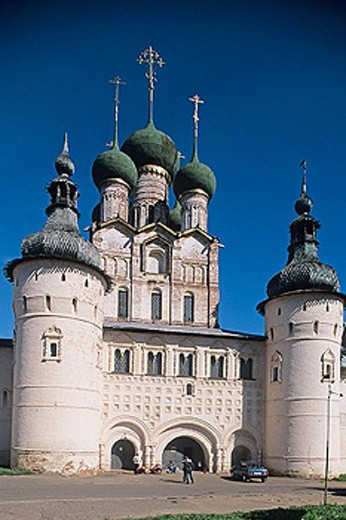 Stock Photo: 1566-295605 The Kremlin, Rostov the Great. Golden Ring, Russia