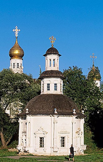 St. Paraskeva´s Church, Holy Trinity-St. Sergius Lavra (monastery), Sergiyev Posad. Golden Ring, Russia : Stock Photo
