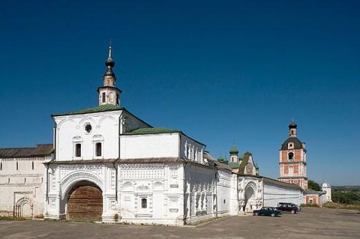 Stock Photo: 1566-295779 Goritsky Monastery (17th-18th centuries), Pereyaslavl-Zalessky. Golden Ring, Russia