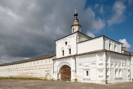 Stock Photo: 1566-295780 Goritsky Monastery (17th-18th centuries), Pereyaslavl-Zalessky. Golden Ring, Russia
