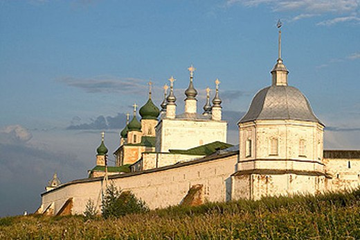 Goritsky Monastery (17th-18th centuries), Pereyaslavl-Zalessky. Golden Ring, Russia : Stock Photo