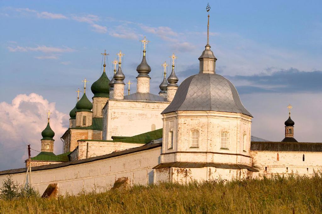Stock Photo: 1566-295789 Goritsky Monastery (17th-18th centuries), Pereyaslavl-Zalessky. Golden Ring, Russia
