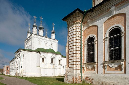 Church of All Saints, Goritsky Monastery (17th-18th centuries), Pereyaslavl-Zalessky. Golden Ring, Russia : Stock Photo